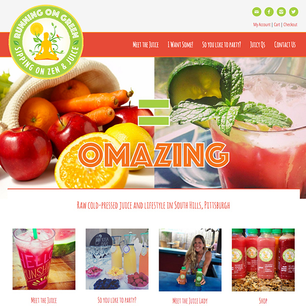 Running OM Green Website