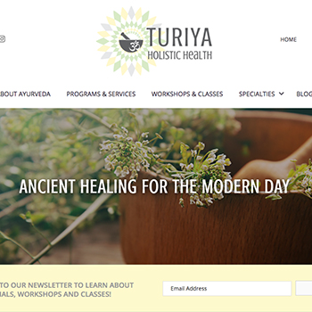 Turiya Holistic Health Homepage