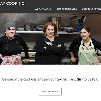 Girl Friday Cooking Co. Homepage